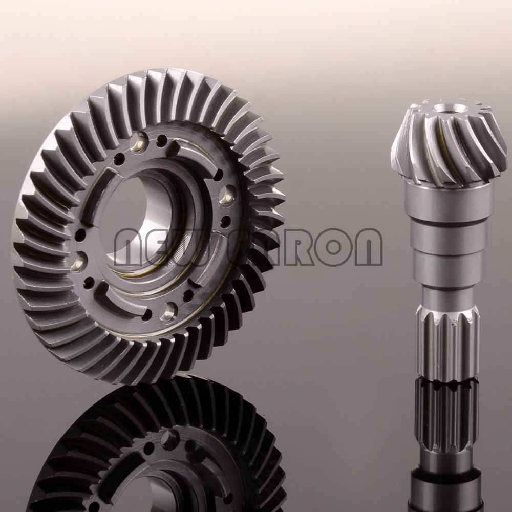 Front Hard Steel Differential Ring/Pinion Gear Set For Traxxas X-Maxx 1/5 RC Car ordinary differential equations