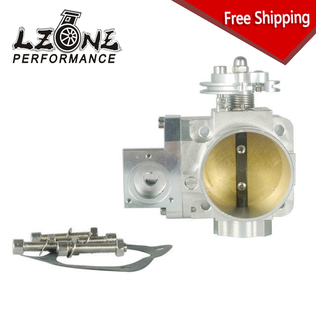 FREE SHIPPING - NEW THROTTLE BODY FOR EVO 4G63 70mm CNC Intake Manifold Throttle Body evo7 evo8 evo9 4g63 turbo free shipping used throttle body for nissan 1 5 air damper restrictor [wx32]