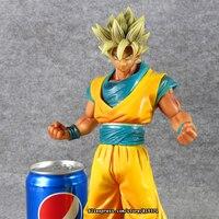 12 30cm Japanese Anime Dragon Ball Z Figurines Super Saiyan Son Goku Figuras PVC Resin Doll