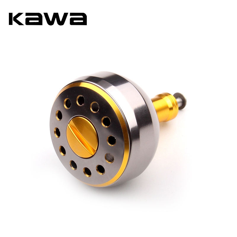 KAWA Fishing Reel Handle Knob Machined Metal Knob For Bait Casting Spining Reel Shimano And Daiwa Fishing Tackle Accessory
