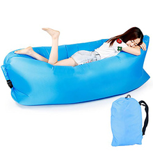 Inflatable Sofa Bean Bag Portable Air Sofa Outdoor Furniture Lazy Chair For Camping Leisure Tools Adults Kids Outdoor Bed