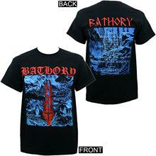 Authentic BATHORY Blood on Ice Album Cover Art 1996 Black Metal T-Shirt S-3XL NEW Cotton Low Price Top Tee for Teen Boys T Shirt bathory bathory requiem lp