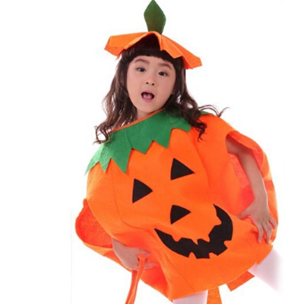 2015 halloween pumpkin costume party dress lint fabric and
