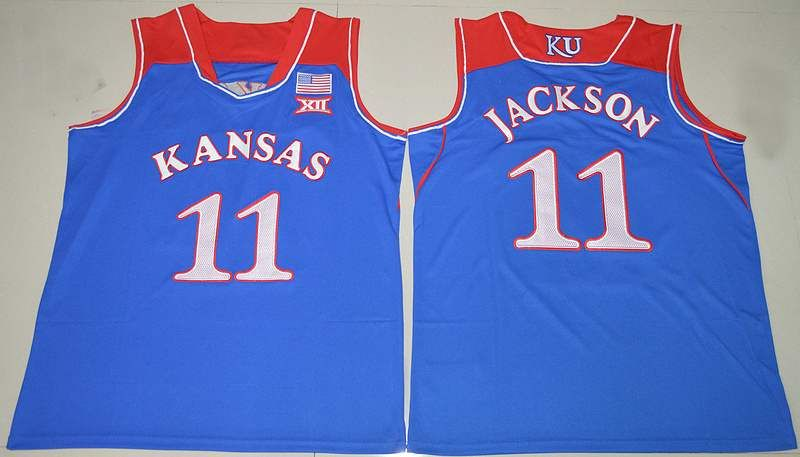 eadd55dac ... Blue College 11 Josh Jackson