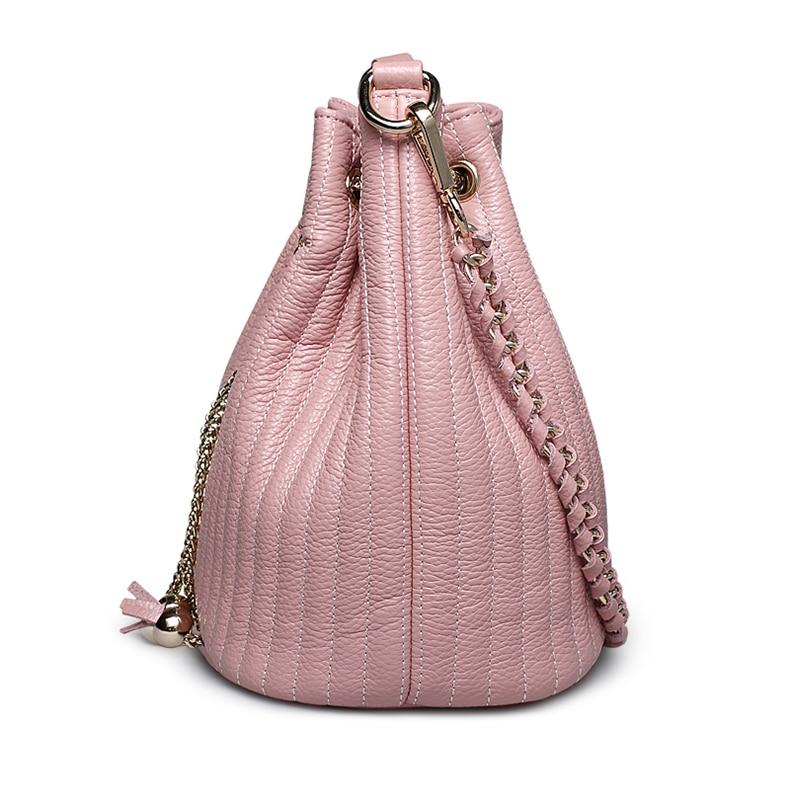 Moda Cubo Caliente bolsos de cuero genuino mujeres ZOOLER hombro - Bolsos - foto 5