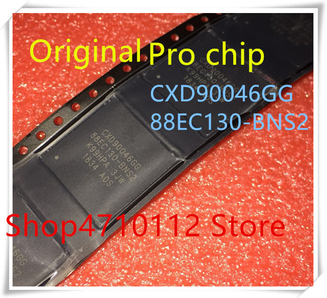 NEW 1PCS LOT PS4 Pro Chip CXD90046GG 88EC130 BNS2 BGA IC