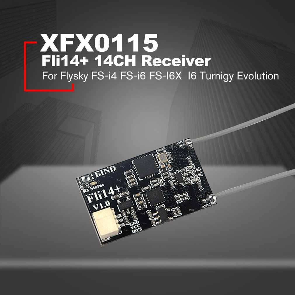 Fli14+ 14CH Mini Receiver with PA Amplifier OSD RSSI Output