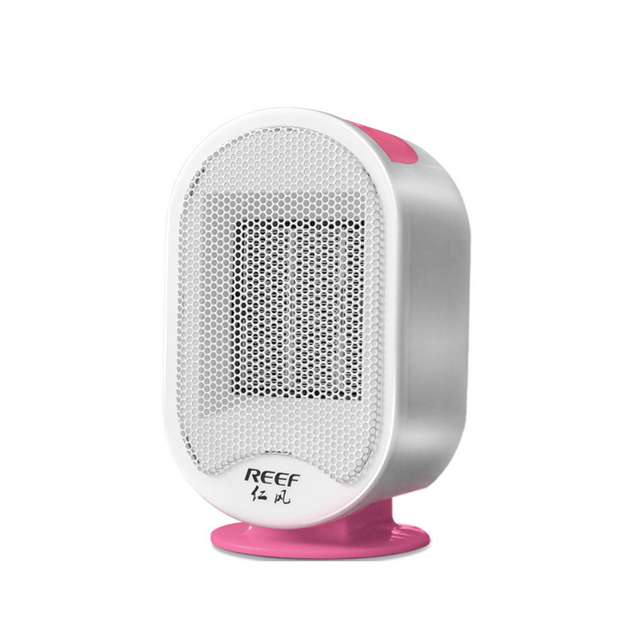 Onezili Free Shipping Gift desk fan heater 220V Portable home office Electronic Heater  Electric Fan Heater white and pink 220V