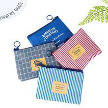 1шт холст портмоне унисекс милые маленькие дети женский кошелек на молнии мешок кактус Изменить ключ карты держатель Мини сумка для девочек