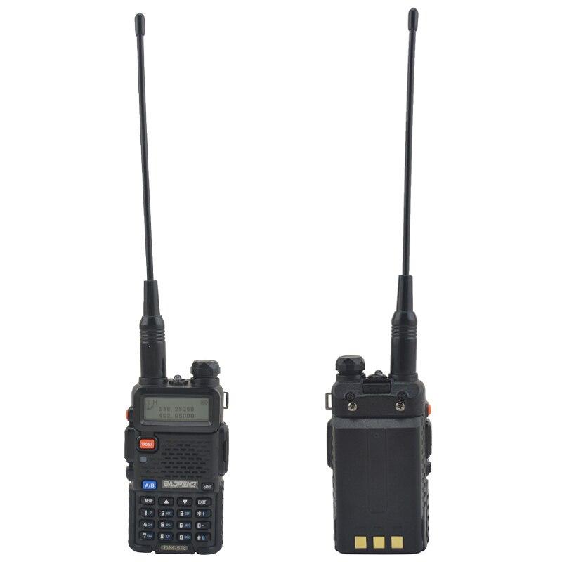 2pcs DM 5R baofeng 2nd Generation DMR Digital Radio VHF/UHF Dual Band DMR Tier I&II FM Walkie Talkie +1pcs USB programming cable - 5