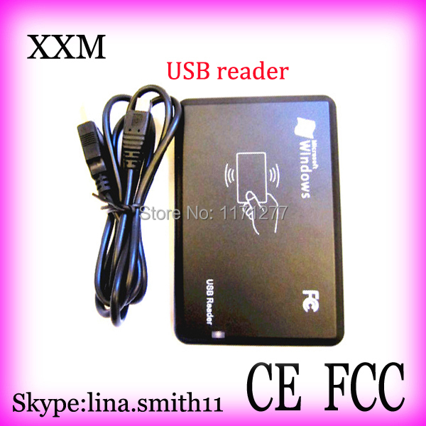 Free shipping 10pcs/lot USB 2.0 connect with PC  13.56MHZ IC card reader mnml couture футболка