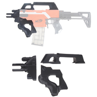 Worker F10555 3D Printing No.193 Thunder Type Front Tube Kit for Nerf Stryfe Black Accessories For Nerf Toy Gun Modification