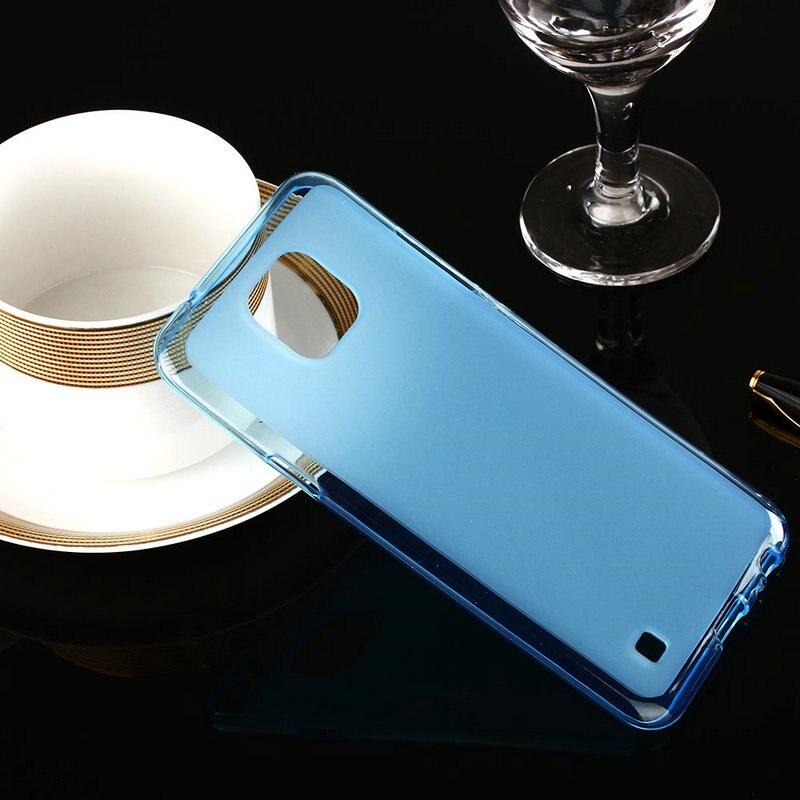 Высокое качество телефон Обложка кожа ультра тонкий половина Ясно Мягкий чехол для LG Xcam случае