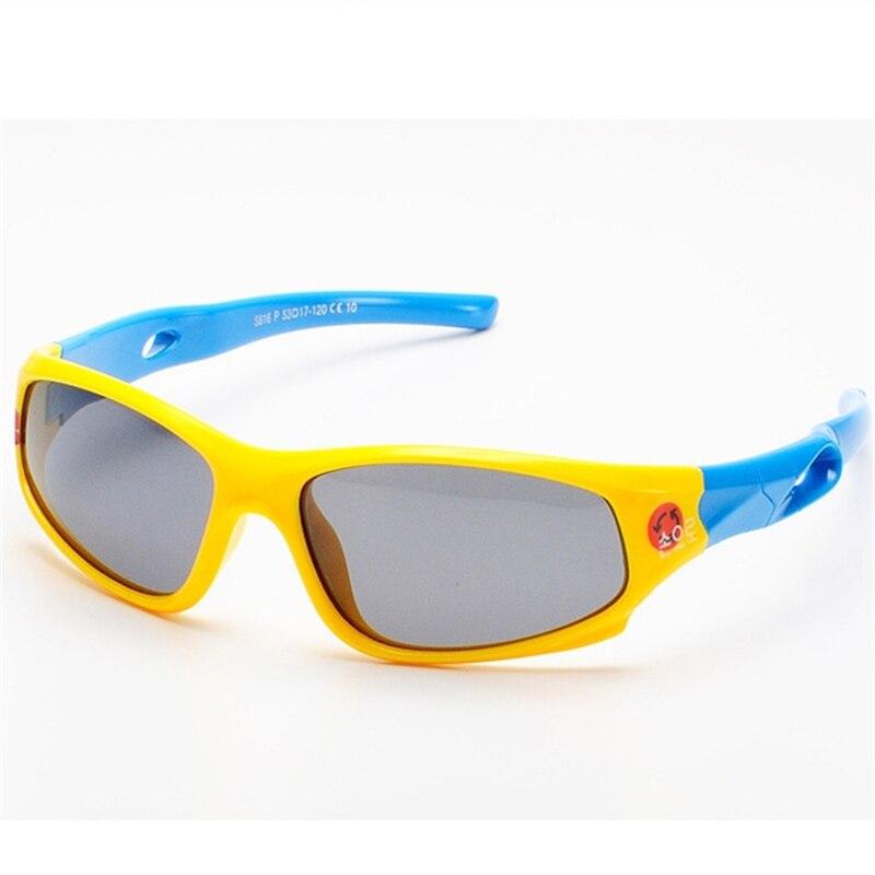 Cute Baby Polarized Sunglasses Kids Child Girls Boys Sport Goggles TR90 Polaroid Sun Glasses Shades Infant