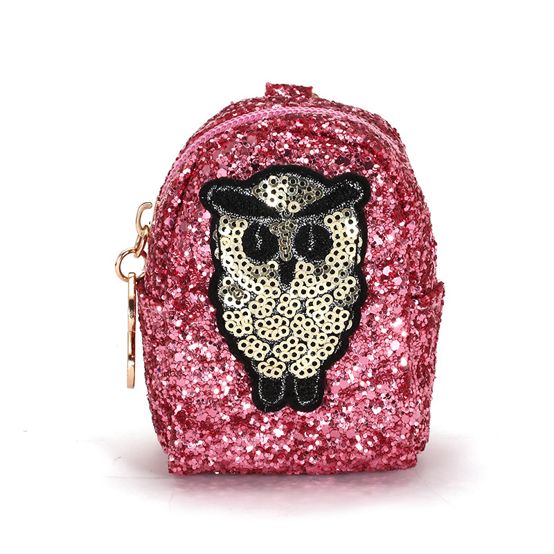 Women Coin Purse Wallets Sequins Cartoon Cute Kids Girls Mini Purses Wallet Key Money Holder Bag candy colored girls coin bags women key wallets cute pu eva mini square storage hard bag case holder for sd tf card earphone