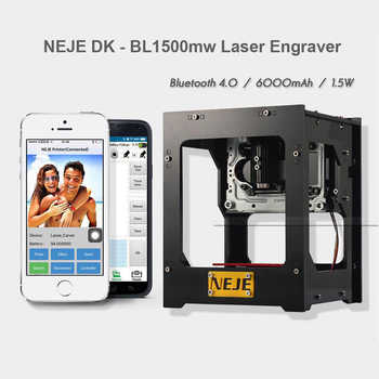 NEJE DK - BL 1500mw USB Bluetooth Laser Engraver Machine cnc crouter cnc laser cutter 3D Printer Wireless Bluetooth Printer