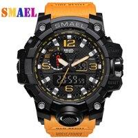 Luxury Top Brand G Style Fashion Men S Digital Sports Wristwatch LED Military Watch Relogio Masculino