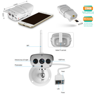 Image 5 - VStarcam C16S WiFi IP カメラ屋外 1080 1080p 防犯カメラ防水赤外線ナイトビジョン携帯ビデオ監視 CCTV カメラ