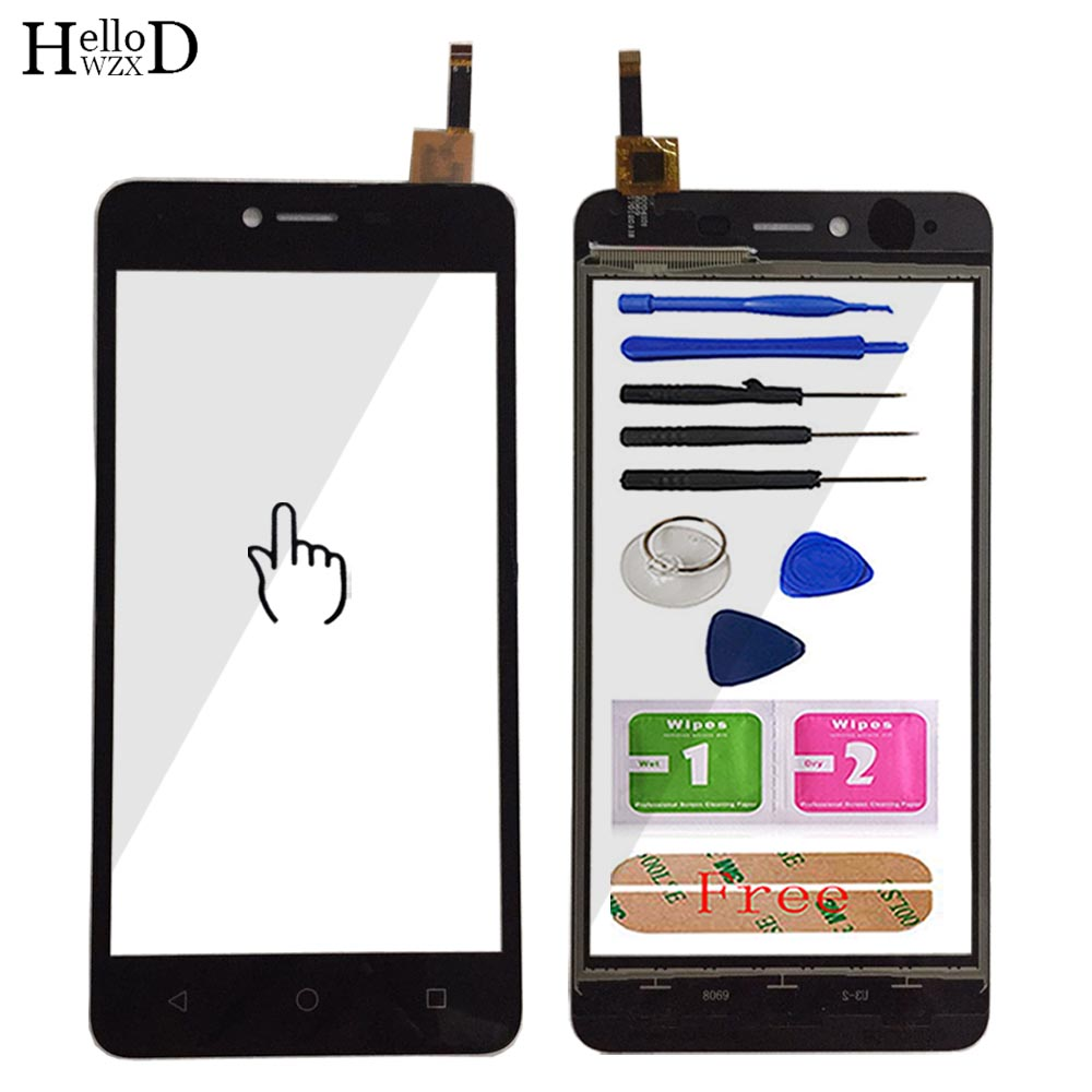 Mobile Touch Screen Front Glass For BQ 5059 BQ-5059 Touch Screen Digitizer Front Glass Panel Replacemen Tools Adhesive