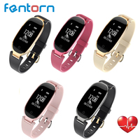 Fashion S3 Smart Watch Women Ladies Bluetooth Waterproof Wristband Heart Rate Monitor Fitness Tracker Smartwatch for Android IOS