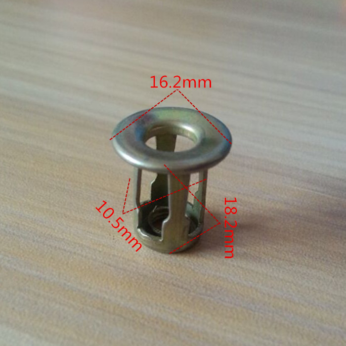 10PCS Car Auto Metal Screw Base Fixed Clips Car Front / Back License Plate Install Fastener Clamp For Audi A1A4LA5A6LA7A8Q5Q7Q3