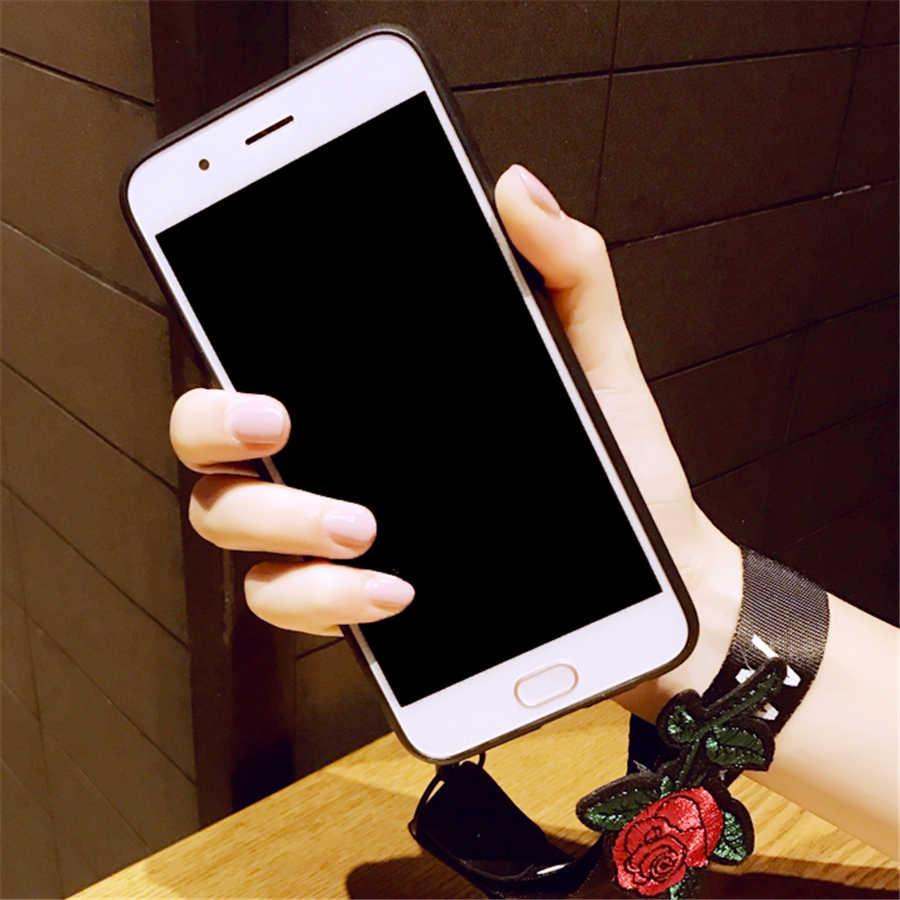 สำหรับ Xiao mi mi A1 A2 6X5X5 s สีแดง mi หมายเหตุ 4 4A 4x5 plus 5A Y1 S2 ลูกไม้ดอกไม้รูปแบบบรรเทานุ่มซิลิโคน