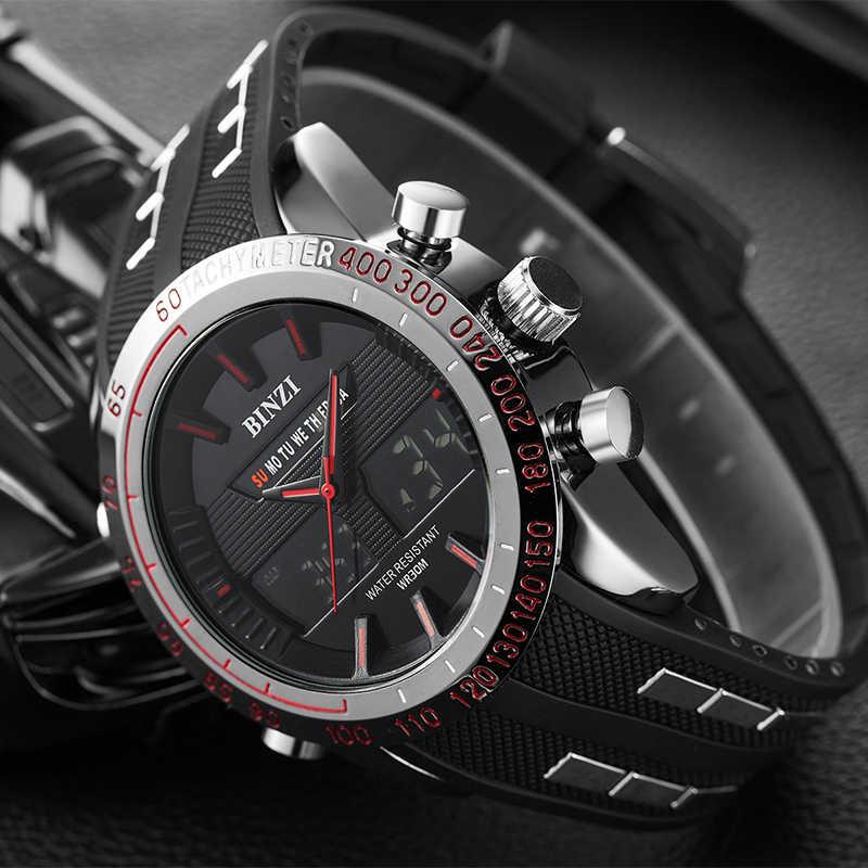 Reloj deportivo militar para hombre, reloj Digital resistente al agua estilo G, reloj electrónico de lujo S Shock, reloj de pulsera para hombre, cronógrafo LED
