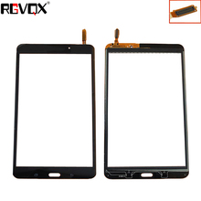 RLGVQDX New For Samsung Galaxy Tab 4 8.0 T331 T330 Wifi version Touch Screen Digitizer Sensor Glass Panel Tablet PC Black White