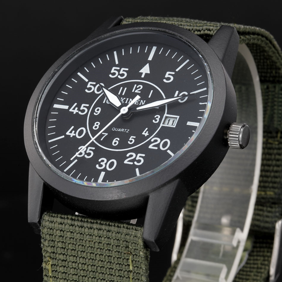 Famous Top Brand Military Watches Mens Fashion Date Casual Nylon Quartz Watch Kids Sports Gifts Clock Montres de Marque de Luxe куртка diesel куртка page 9