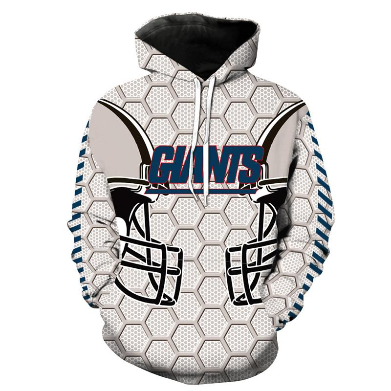 New Giants Printed Hoodies 3D Hoodies Men Women Sportwear
