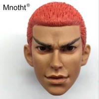 Mnotht 1/6 Scale Dunk High hand Head Sculpt Yingmuhuadao Head Carving Model Toys For 12in Action Figure Collections Hobbies m3