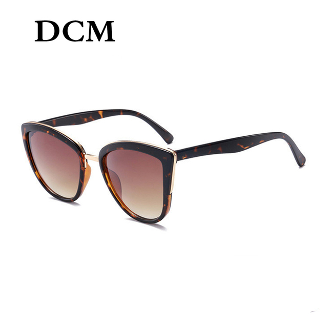 DCM Cateye Sunglasses Women Vintage Gradient Glasses Retro Cat eye Sun glasses Female Eyewear UV400-in Women's Sunglasses from Apparel Accessories on Aliexpress.com | Alibaba Group