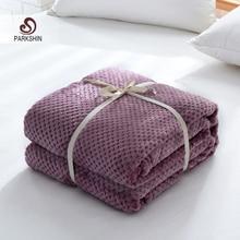 Parkshin фланелевое одеяло с изображением ананаса, дивана, офиса, взрослых, одеяло для путешествий, покрывало, покрывало для дивана, простыни