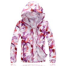 цена на 1 Piece Ultrathin Gradient Print Cycling Jackets For unisex Thin Skin Sports Jacket Hooded Cardigan Quick Dry Sun Protection