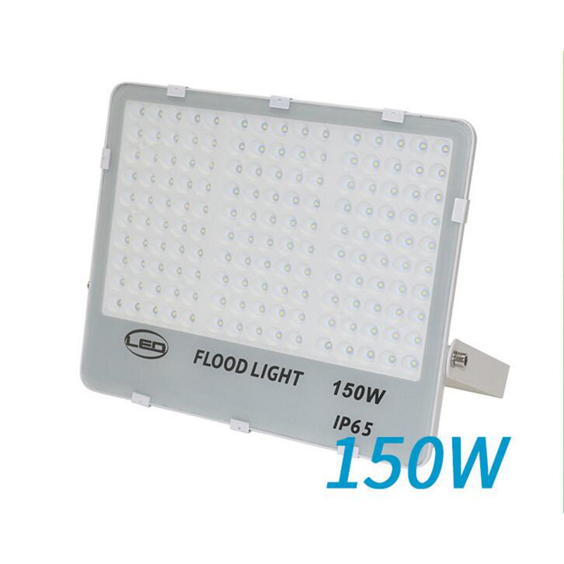 6pcs/lot Ultrathin LED flood light 150w black Garden Spot AC85-265V waterproof IP65 Floodlight Spotlight Outdoor Lighting ultrathin led flood light 200w ac85 265v waterproof ip65 floodlight spotlight outdoor lighting free shipping