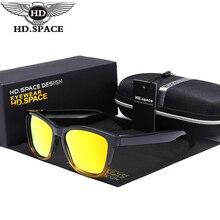 HD Hombres Mujeres Clásicas Gafas de Sol Polarizadas Lente de Espejo Dazzle Color Gafas Inconformista Calle Snap Gafas de Sol Retro Gafas LM029