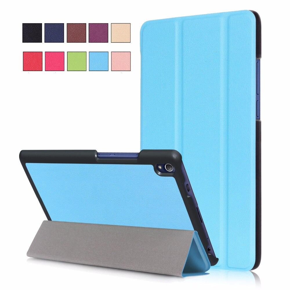New Luxury KST Flip Stand Case For Funda Lenovo Tab 3 8 Plus Tablet Book Folio Cover Cases for Lenovo Tab 3 8 Plus TB-8703F