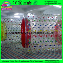 Inflatable water roller,roller tube for amusement park water roller water zorb ball for sale