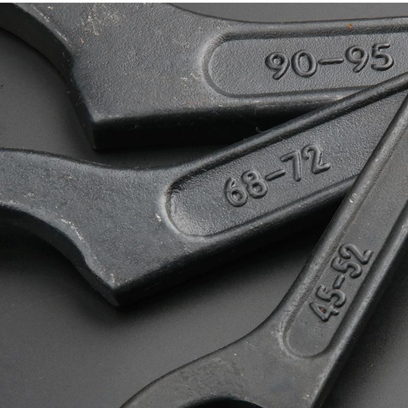 38 ברגים עגול אגוז איכותי וו מתכווננת spanner2-26 / 28-32 / 34-36 / 38-42 כלים לתיקון אופנועים כלי יד (4)