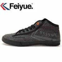 Feiyue men women shoes Style Black Sneakers Martial arts women men Kungfu shoes Walking canvas shoes Tai and Chi Shaolin shoes