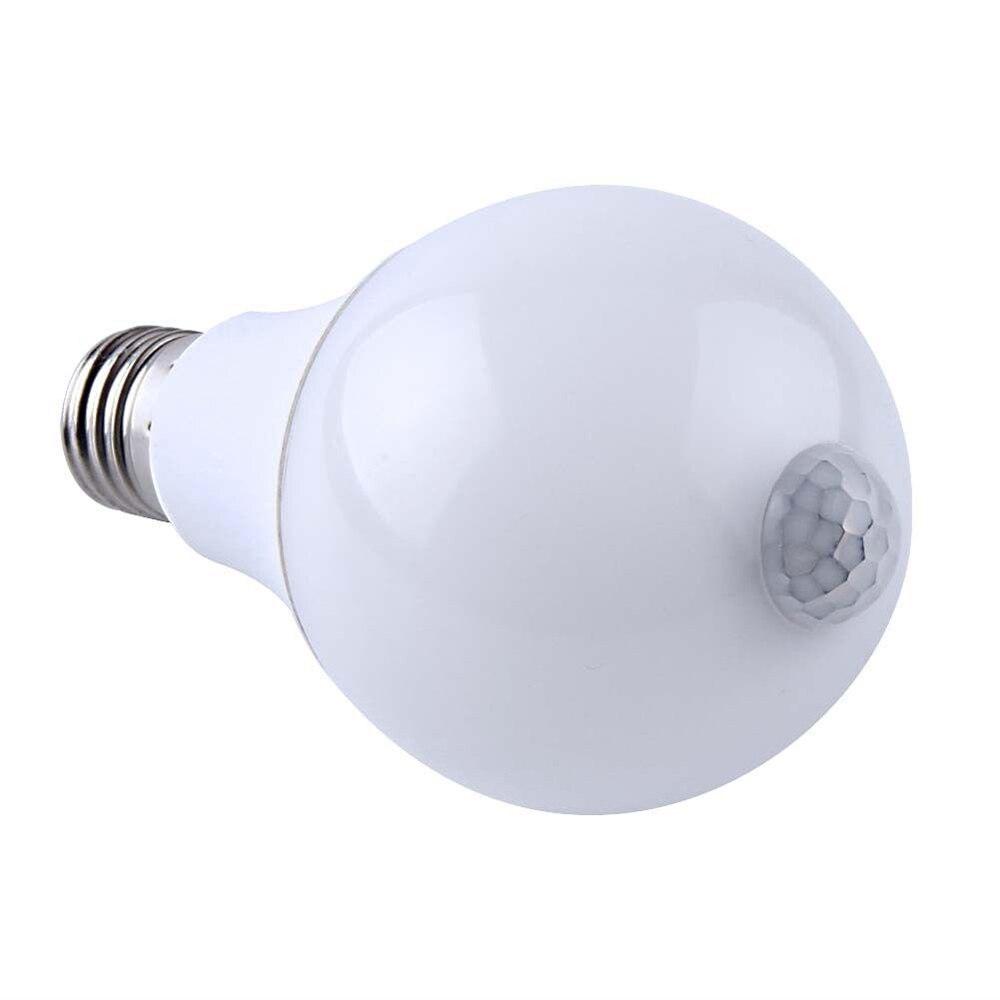 10 PCS PIR Sensor De Movimento LEVOU Lâmpada + Controle De Luz Lâmpada LED Auto Infrared Sensor LED Energy Saving Lâmpadas para escadas de Iluminação E27 - 5