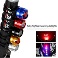 LED Waterproof Bike Bicycle Cycling Front Rear Tail Helmet Red Flash Lights Safety Warning Lamp Cycling Safety Caution Light T42