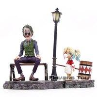 DC Joker Suicide Squad Harley Quinn & Joker Action Figure PVC Joker and Harley Quinn Doll Collectible Model Toy Set