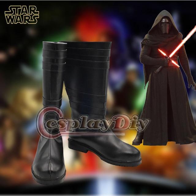 Star Wars: The Force Despierta Kylo Ren Cosplay Botas Zapatos Hechos A Medida