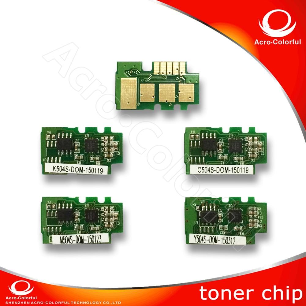 Compatible T504 CLT-504 Toner Reset Cartridge Chip for Samsung 504 CLP 415 470 475 CLX 4195 Laser Printer Chip Resetter CLP415