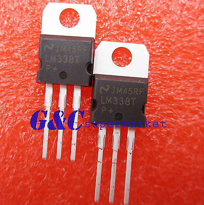 5pcs LM338T LM338 Voltage Regulator 1.2V To 32V 5A TO-220