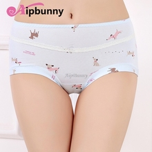 Elastic female lady Underwear Knickers 100% Cotton Briefs Seamless Girl Womens sexy Lingerie  Printed Panties