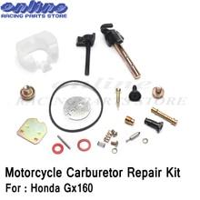 цена на Motorcycle Carburetor Parts Repair Tool Kit for Honda Gx120 Gx160 Gx200 Engine Motor Accessory