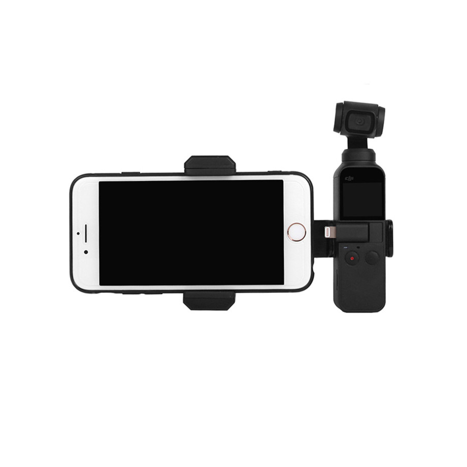 OSMO Pocket Smartphone Fixing Bracket Stand Clamp Extending Rod Tripod for DJI OSMO POCKET Gimbal Accessories 34