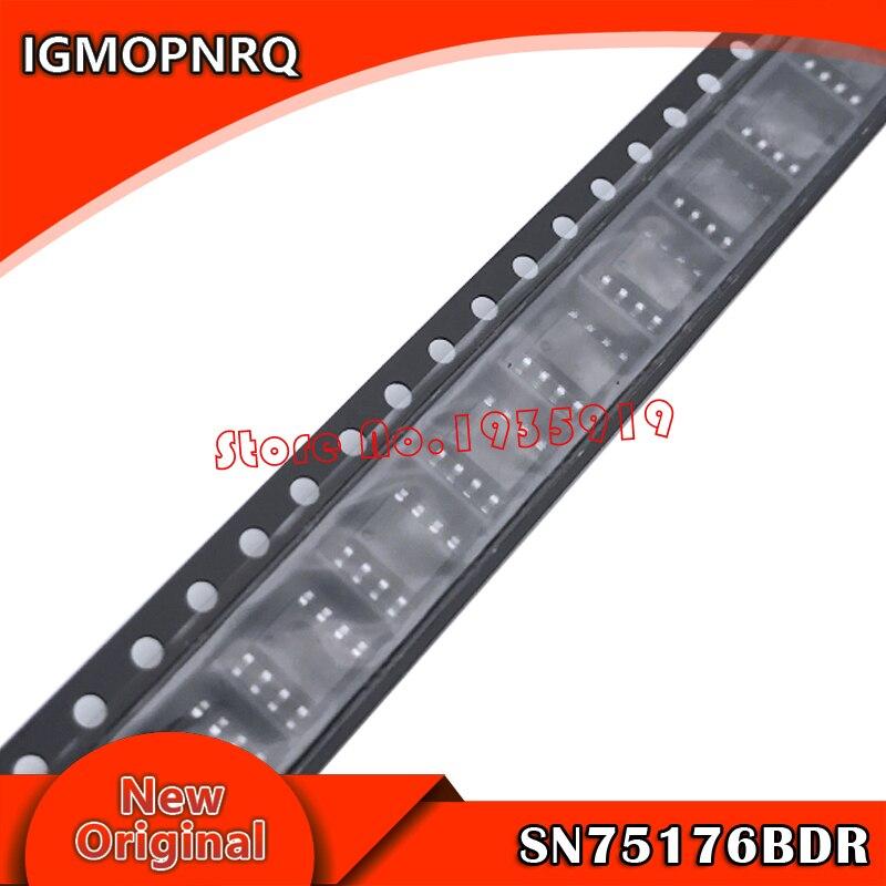 20pcs/lot 75176 SN75176BDR SN75176BD SN75176B SN75176 SOP8